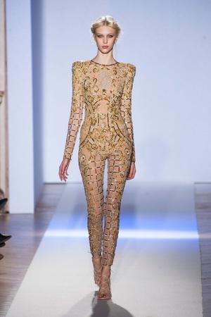 Показ Zuhair Murad коллекции сезона Весна-лето 2013 года Haute couture - www.elle.ru - Подиум - фото 480957