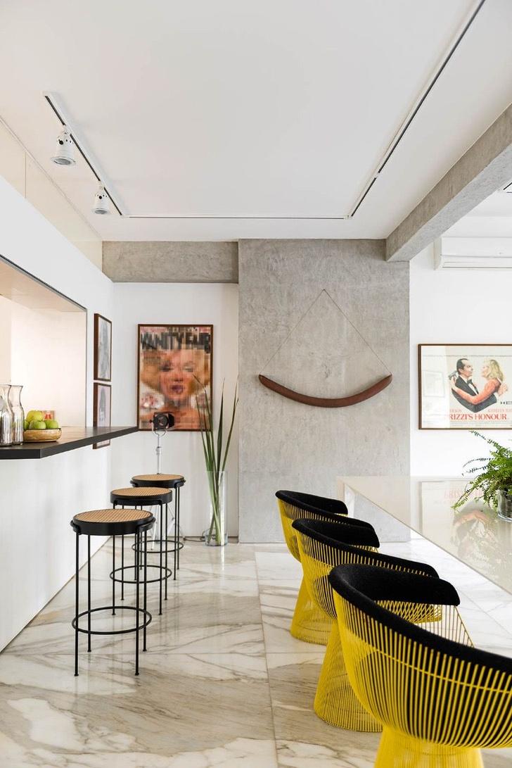 Квартира с предметами искусства в Сан-Паулу (фото 15)