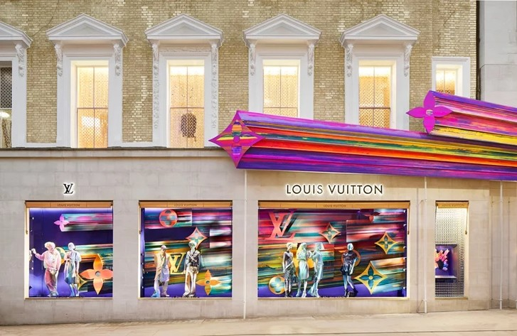 Бутик Louis Vuitton в Лондоне (фото 9)