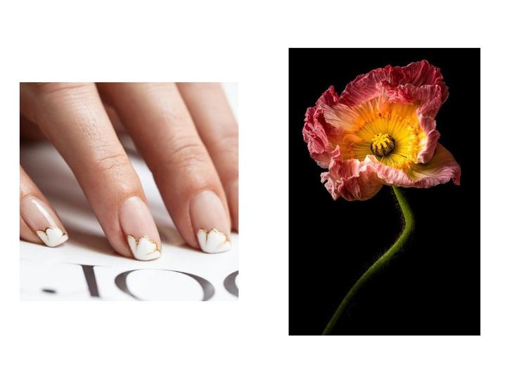 5 идей цветочного маникюра на весну (фото 8)
