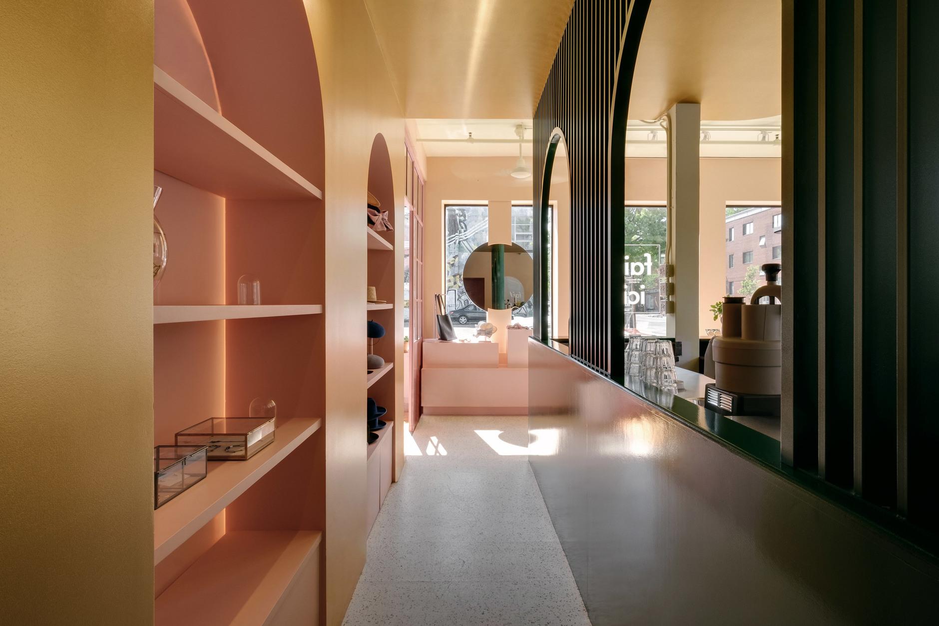 Яркий проект Pastel Rita в Монреале от студии Appareil Architecture (галерея 5, фото 0)