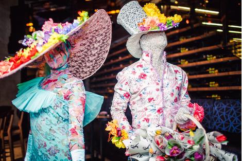 Цветочная студия Виктории Крутой и Виктории Сощенко Florist Gump отметила день рождения