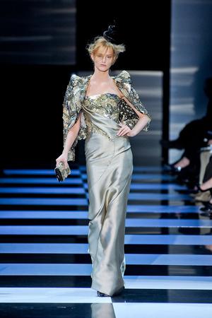 Показы мод Giorgio Armani Privé Весна-лето 2012 | Подиум на ELLE - Подиум - фото 1762