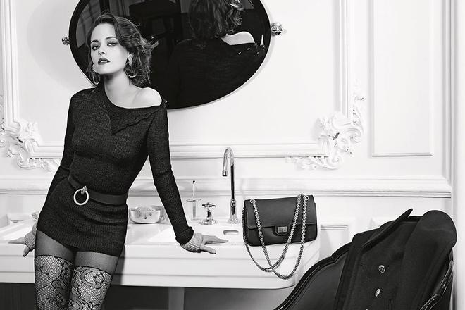 Кристен Стюарт в рекламе Chanel