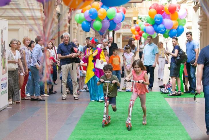День защиты детей пройдет в Детском ГУМе и в Галереях Времена Года