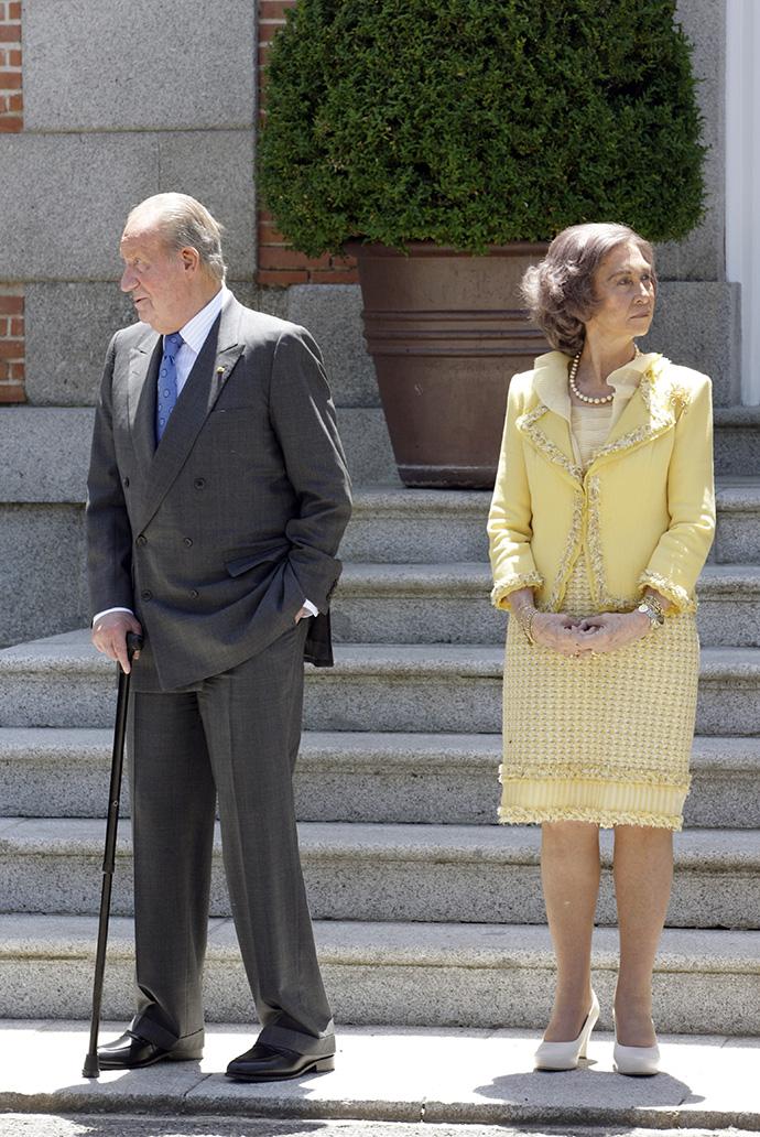 Хуан Карлос и королева София