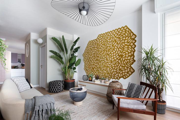 Рай на земле: квартира 96 м² в Милане (фото 0)