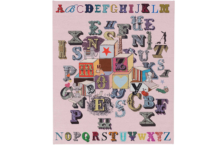 Ковер Alphabet Blocks Pink