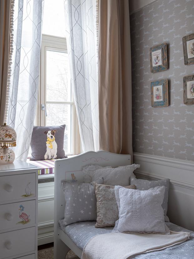 Квартира в классическом стиле на Чистых прудах: проект Дарьи Руссу (фото 13)