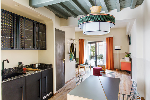Комната в Риме: уютный бутик-отель в духе кондоминиума (фото 2)