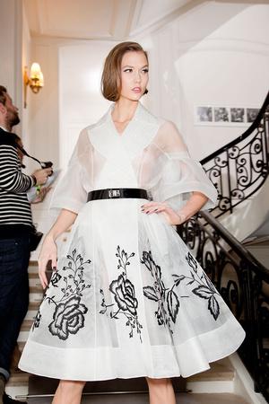 Показ Christian Dior коллекции сезона Весна-лето 2012 года Haute couture - www.elle.ru - Подиум - фото 330650
