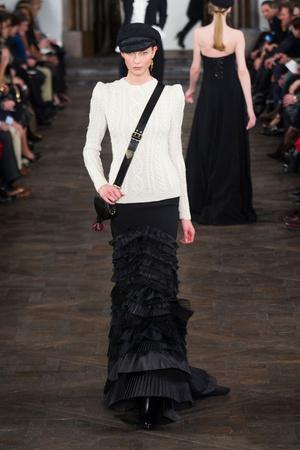 Показы мод Ralph Lauren Осень-зима 2013-2014 | Подиум на ELLE - Подиум - фото 803