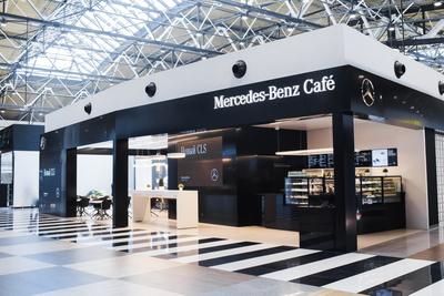 В «Шереметьево» появилось кафе Mercedes-Benz Café (галерея 1, фото 3)