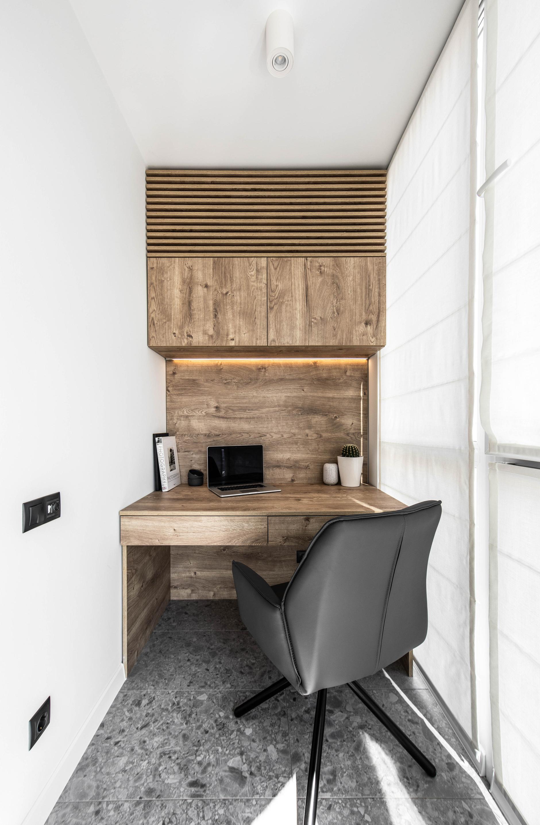 Рабочее место на балконе: 10+ идей и решений (галерея 0, фото 4)