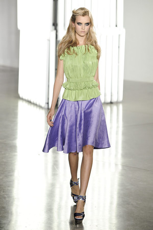Показы мод Rodarte Весна-лето 2012 | Подиум на ELLE - Подиум - фото 2019
