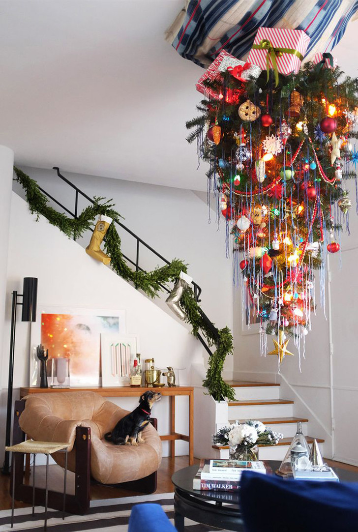 Новогоднее украшение дома: советы флориста фото [2]