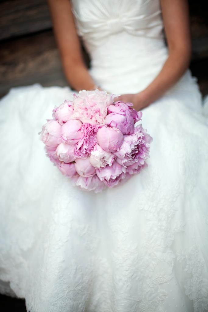 Самые красивые монобукеты для невесты, от которых мы без ума
