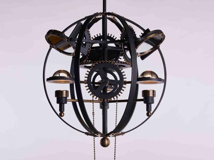 Светильники по мотивам механизмов Леонардо Да Винчи (фото 0)