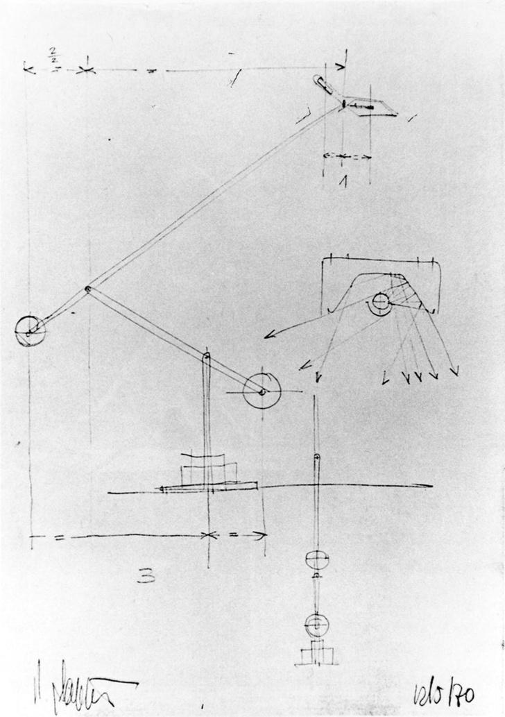 Культовый объект: светильник Tizio Ричарда Саппера (фото 7)