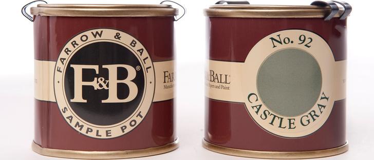 Образцы Farrow & Ball