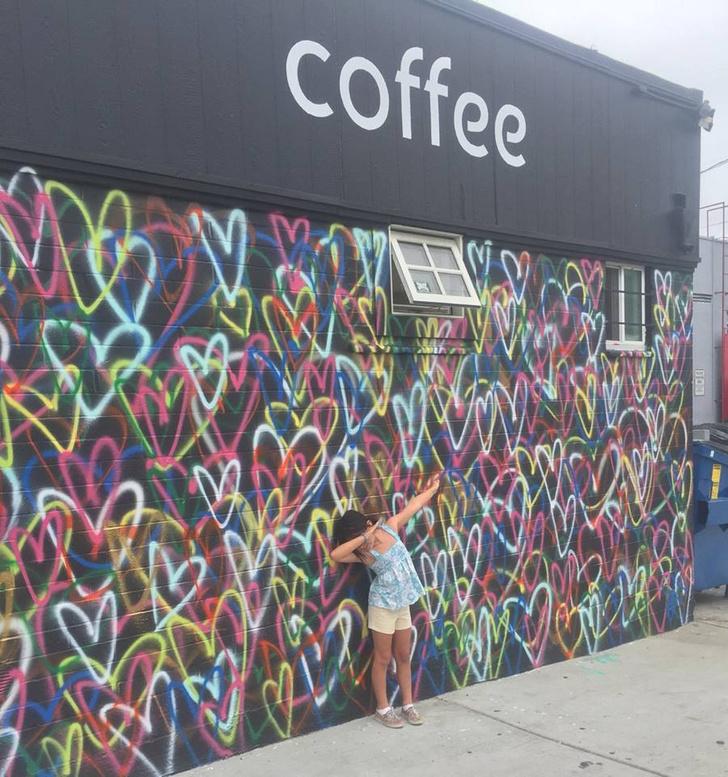 Тропическое кафе в Калифорнии (фото 8)