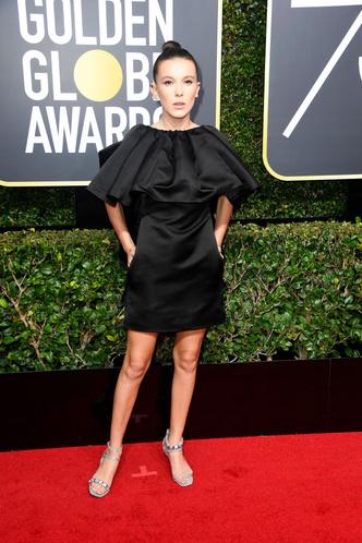 Женщины в черном: самые эффектные платья «Золотого глобуса» (фото 15)