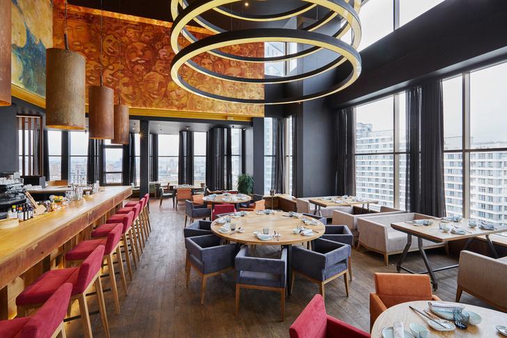 Китайский ресторан Hong Kong с панорамным видом