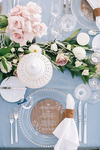 Весенняя свадьба: оформление   галерея [1] фото [6]