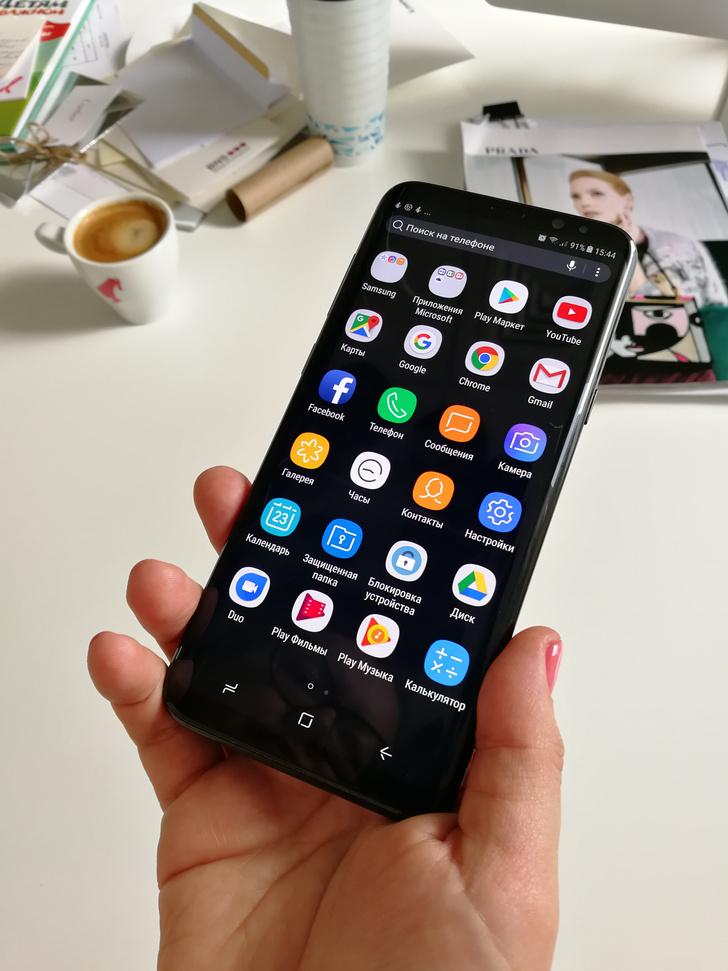 Samsung Galaxy S 8 отзывы