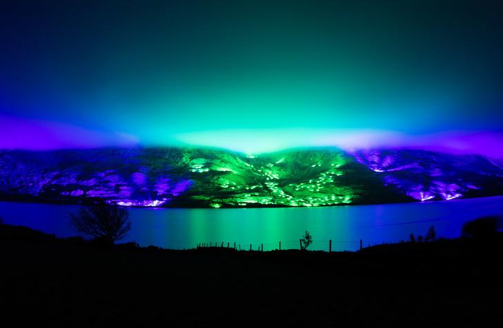 Северное сияние: световое шоу художника Кари Колы (фото 5)