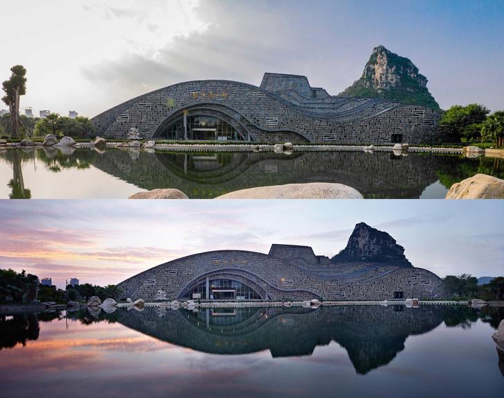 В гармонии с природой: культурный комплекс в Китае (фото 0)