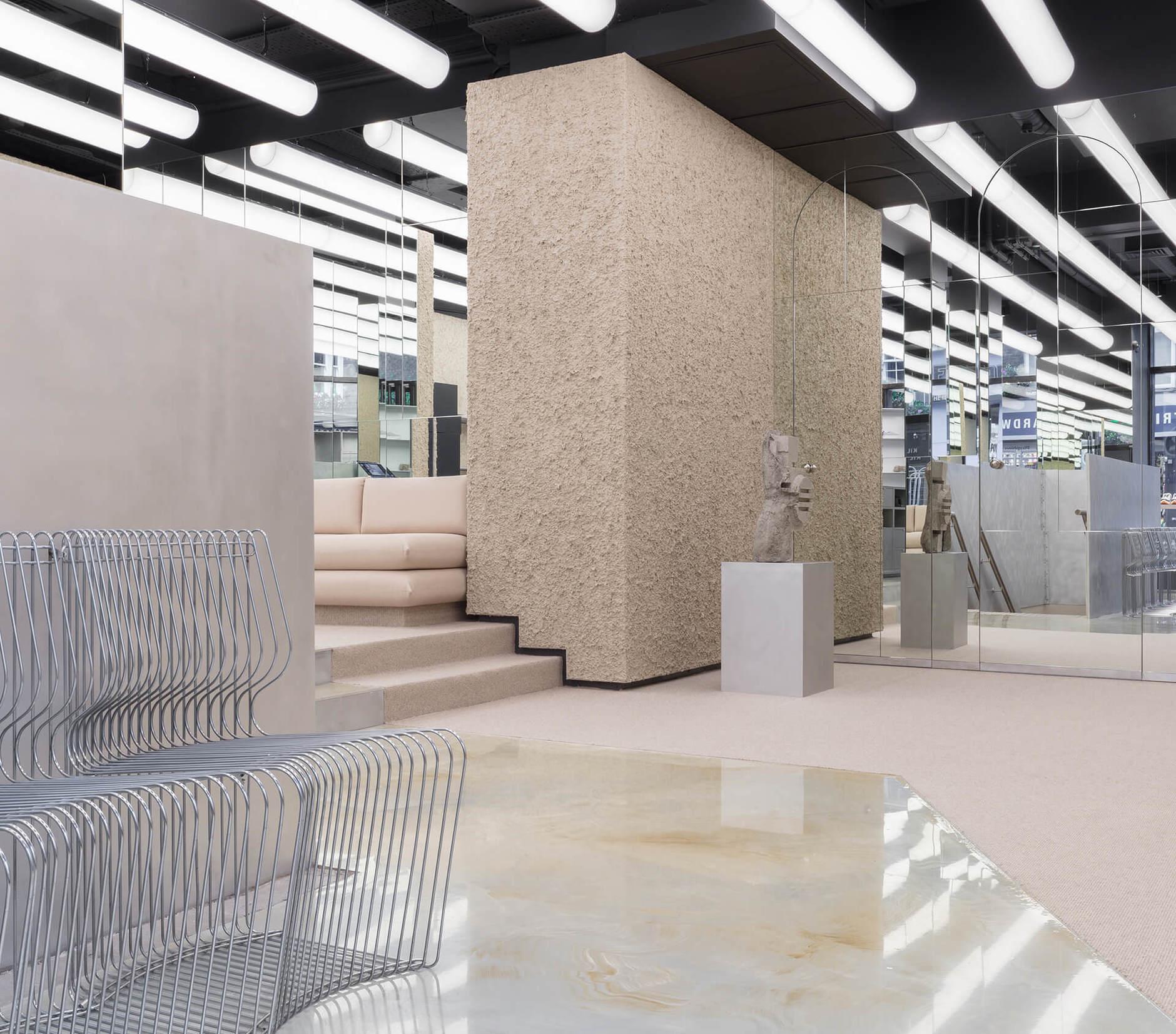 Минималистичный бутик в Лондоне (галерея 7, фото 2)