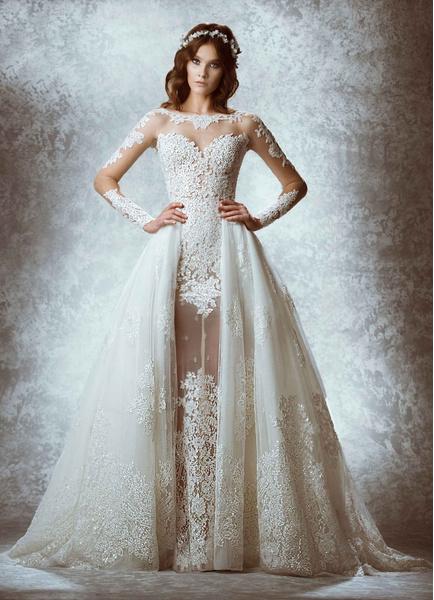 Любо-дорого: свадебная мода 2015 | галерея [3] фото [10]