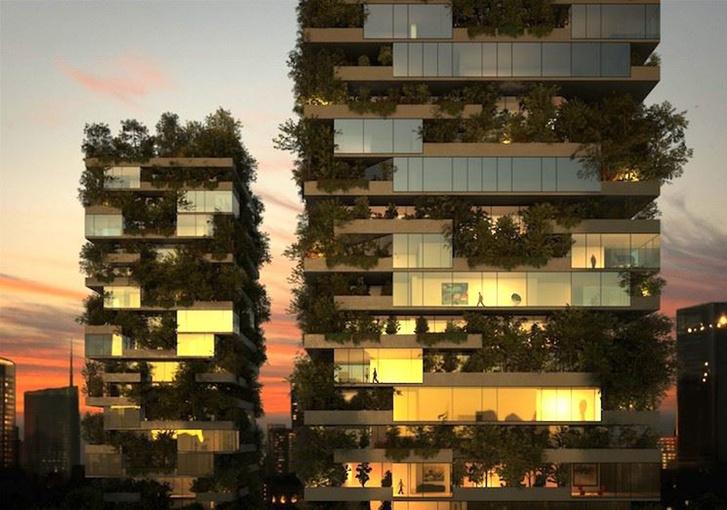 """Квартиру в миланском небоскребе """"Вертикальный лес"""" можно арендовать через AirBnb"""