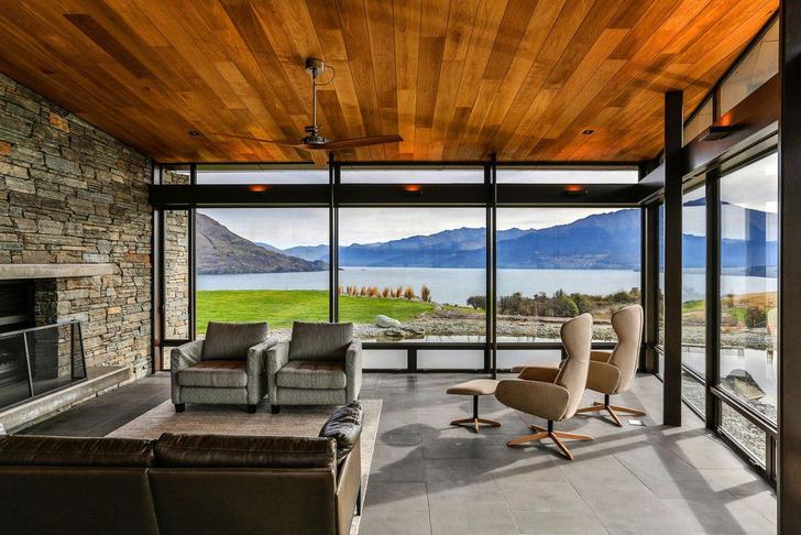 Одно целое: дом на берегу озера Вакатипу в Новой Зеландии (фото 3)