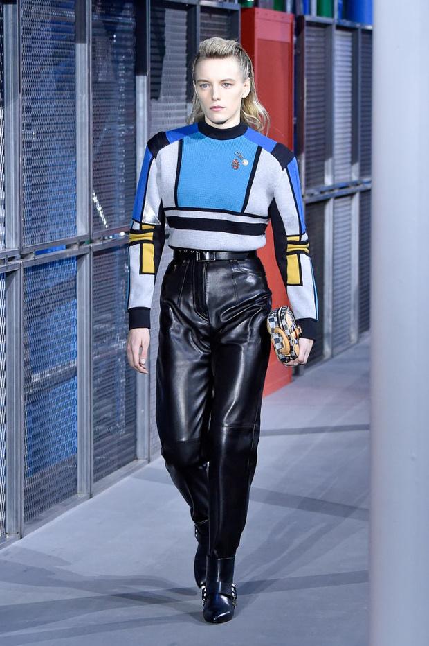 От хип-хопа до фанка 1980-х: смешение стилей на показе Louis Vuitton? (фото 5)