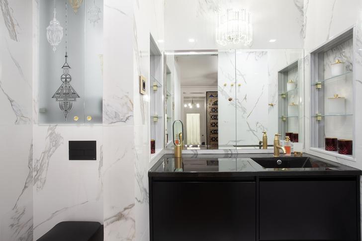 Марокканский декор: Квартира 64 м² в центре Петербурга (фото 16)