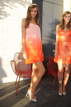 Показы мод Erin Fetherston Весна-лето 2013 | Подиум на ELLE - Подиум - фото 1337