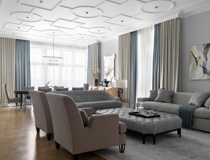 Квартира 250 м² в Москве (фото 4)