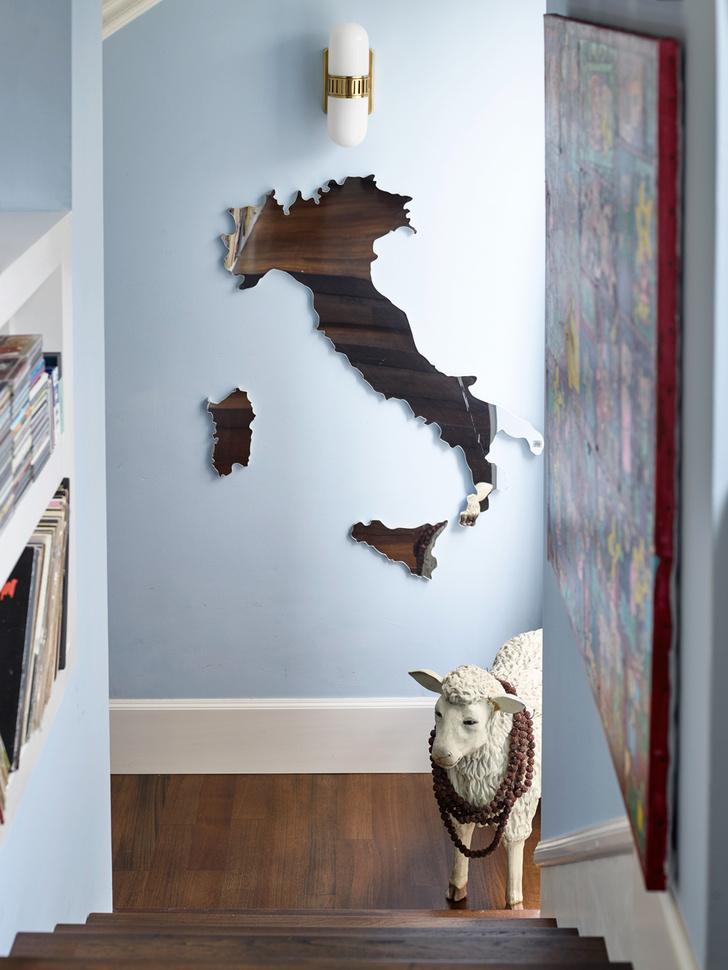 Современное искусство в миланском доме