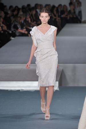 Показ Elie Saab коллекции сезона Весна-лето 2009 года Haute couture - www.elle.ru - Подиум - фото 86594