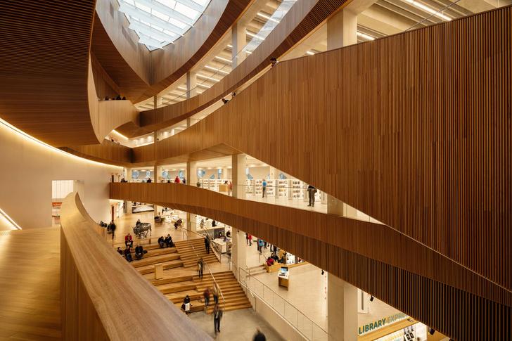 В Калгари открылась городская библиотека по проекту Snøhetta (фото 7)
