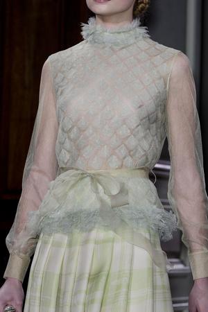 Показ Valentino коллекции сезона Весна-лето 2011 года Haute couture - www.elle.ru - Подиум - фото 217700