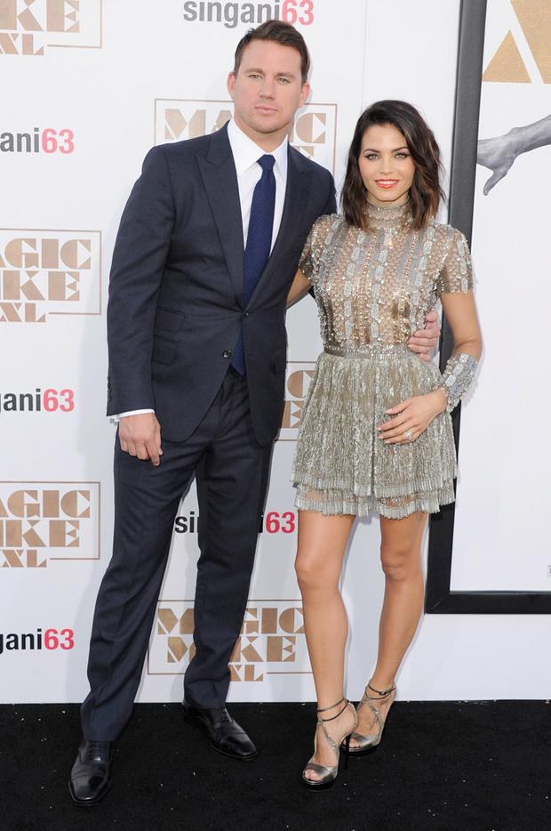 Ченнинг Татум с женой: фото 2015