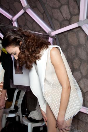Показ Julien Fournie коллекции сезона Весна-лето 2012 года Haute couture - www.elle.ru - Подиум - фото 332006
