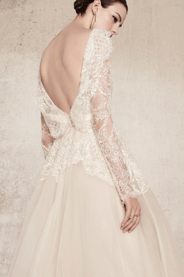 Свадебная мода 2018 фото