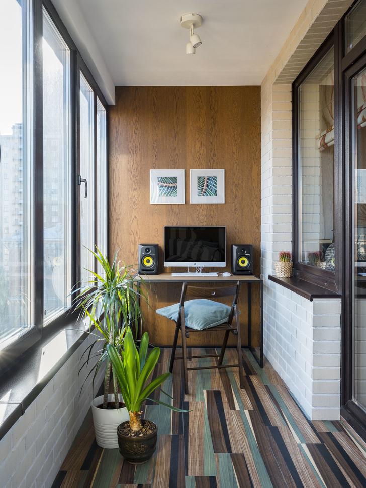 Как превратить балкон в райский уголок (фото 7)