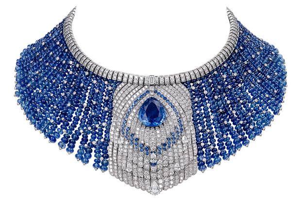Колье Cartier Royal c кашмирскими сапфирами и бриллиантами