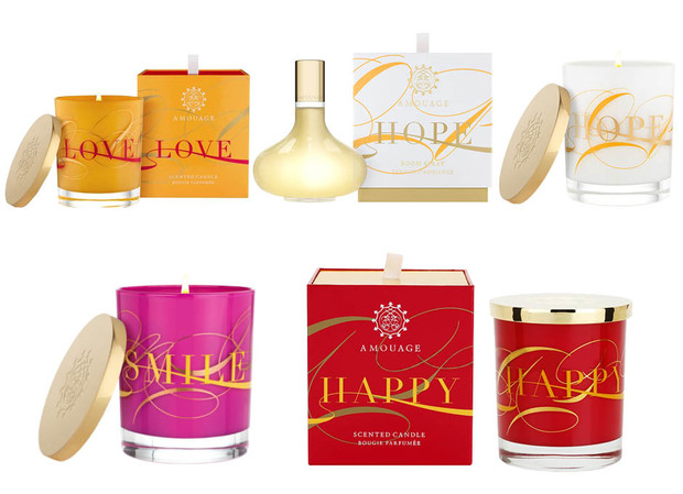 Свечи и ароматы для дома Amouage