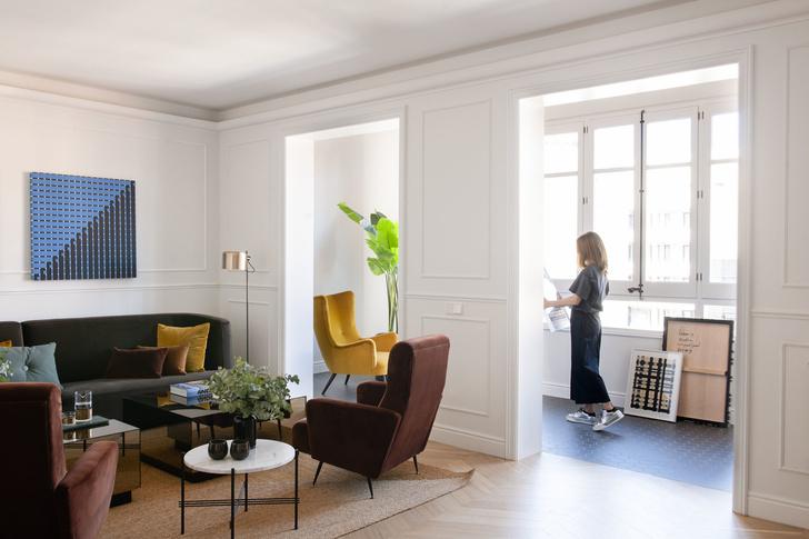 Квартира в стиле мидсенчури в Барселоне (фото 7)